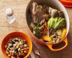 塩豚(プティ・サレ)・豆の煮込み