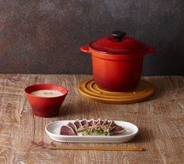 かぶと豆乳のスープ・かつおのたたき山椒風味の作り方