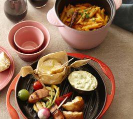One Pot Pasta~ペンネアラビアータ・グリル野菜の作り方