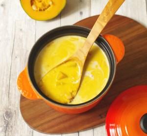 かぼちゃありかぼちゃスープ
