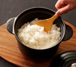 ココット・エブリィで炊くご飯の作り方