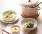 あさりとキャベツの塩麹蒸し・たけのこ塩麹ご飯・発酵調味料で作る鶏入り若竹煮