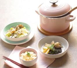 あさりとキャベツの塩麹蒸し・たけのこ塩麹ご飯・発酵調味料で作る鶏入り若竹煮の作り方