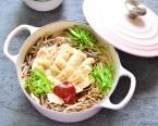 韓国風鶏入りもやしご飯(コンナムルパブ)